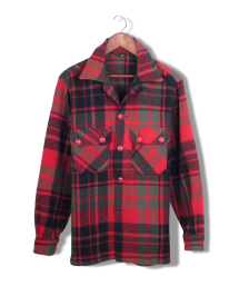 woolrich red check shirt jacket.