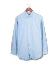 ll bean oxford cloth buttondown.