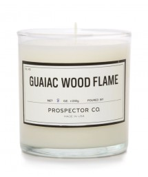 prospector & co. guaiac wood flame