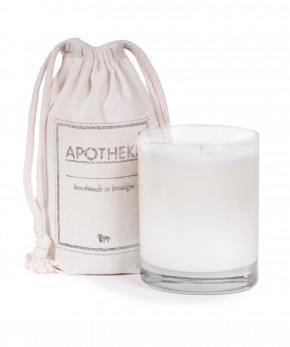 apotheke peppermint ginger candle.