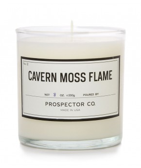 prospector & co. cavern moss flame