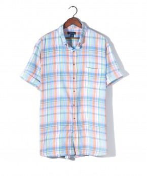 lands' end madras shirt.