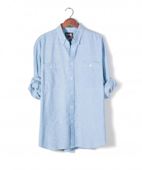 sasson chambray shirt.
