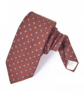 liberty wool dotted tie.