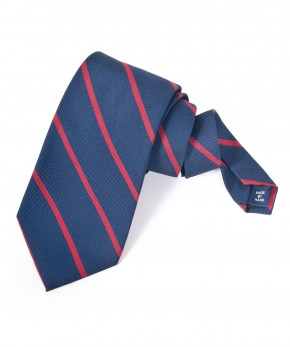 polo repp stripe silk tie.