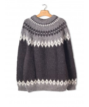 Alva Hand Knit Wool Sweater