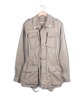 military field jacket.