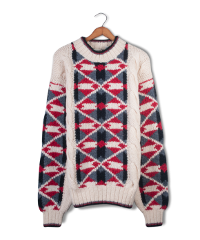 aeropostale cable knit wool sweater