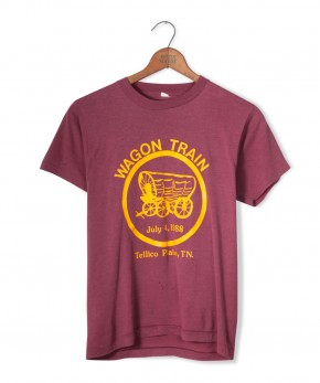 wagon train tee